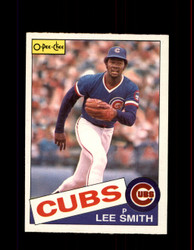 1985 LEE SMITH OPC #43 O-PEE-CHEE CUBS *4945