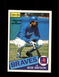 1985 BOB WATSON OPC #51 O-PEE-CHEE BRAVES *G3514