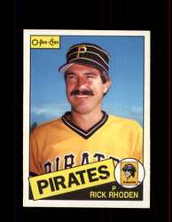 1985 RICK RHODEN OPC #53 O-PEE-CHEE PIRATES *7916