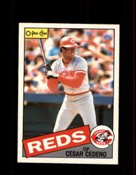 1985 CESAR CEDENO OPC #54 O-PEE-CHEE REDS *7236