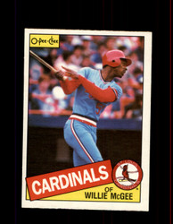 1985 WILLIE MCGEE OPC #57 O-PEE-CHEE CARDINALS *6954