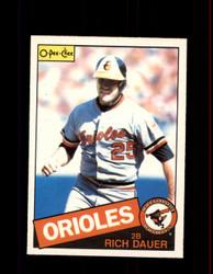 1985 RICH DAUER OPC #58 O-PEE-CHEE ORIOLES *4291