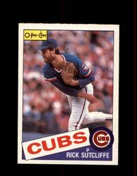 1985 RICK SUTCLIFF OPC #72 O-PEE-CHEE CUBS *6920