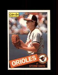 1985 STORM DAVIS OPC #73 O-PEE-CHEE ORIOLES *R1633