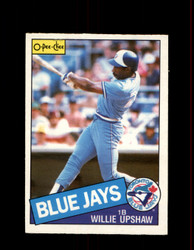 1985 WILLIE UPSHAW OPC #75 O-PEE-CHEE BLUE JAYS *8541