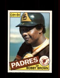 1985 BOBBY BROWN OPC #92 O-PEE-CHEE PADRES *6876
