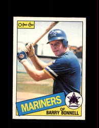 1985 BARRY BONNELL OPC #107 O-PEE-CHEE MARINERS *8656
