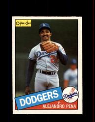 1985 ALEJANDRO PENA OPC #110 O-PEE-CHEE DODGERS *8502
