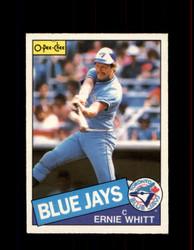 1985 ERNIE WHITT OPC #128 O-PEE-CHEE BLUE JAYS *2536