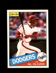 1985 AL OLIVER OPC #130 O-PEE-CHEE DODGERS *3818