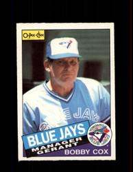 1985 BOBBY COX OPC #135 O-PEE-CHEE MANGER *R1021
