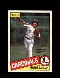 1985 ARGENIS SALAZAR OPC #154 O-PEE-CHEE CARDINALS *R4376