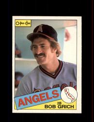 1985 BOB GRICH OPC #155 O-PEE-CHEE ANGELS *R4423