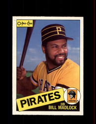 1985 BILL MADLOCK OPC #157 O-PEE-CHEE PIRATES *4894