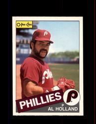 1985 AL HOLLAND OPC #185 O-PEE-CHEE PHILLIES *G6403