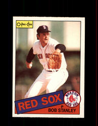 1985 BOB STANLEY OPC #204 O-PEE-CHEE RED SOX *G6354
