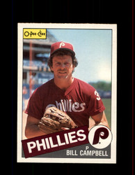 1985 BILL CAMPBELL OPC #209 O-PEE-CHEE PHILLIES *3254
