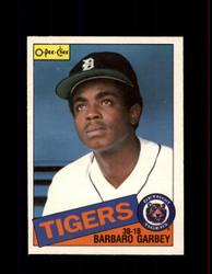 1985 BARBARO GARBEY OPC #243 O-PEE-CHEE TIGERS *G2019