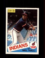 1985 MEL HALL OPC #263 O-PEE-CHEE INDIANS *G2035