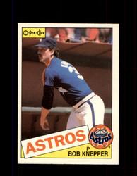 1985 BOB KNEPPER OPC #289 O-PEE-CHEE ASTROS *G2057
