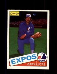 1985 GARY LUCAS OPC #297 O-PEE-CHEE EXPOS *G2064