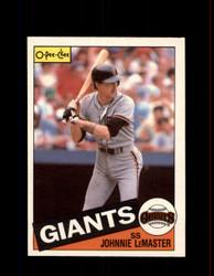 1985 JOHNNIE LEMASTER OPC #302 O-PEE-CHEE GIANTS *G2069