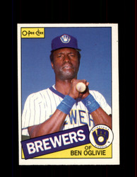 1985 BEN OGLIVIE OPC #332 O-PEE-CHEE BREWERS *G2095