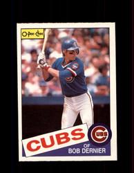 1985 BOB DERNIER OPC #334 O-PEE-CHEE CUBS *G2097