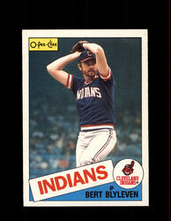 1985 BERT BLYEVEN OPC #355 O-PEE-CHEE INDIANS *G2154