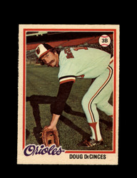 1978 DOUG DECINCES OPC #192 O-PEE-CHEE ORIOLES *G2113