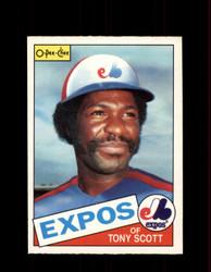 1985 TONY SCOTT OPC #367 O-PEE-CHEE EXPOS *G2166