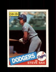 1985 STEVE SAX OPC #369 O-PEE-CHEE DODGERS *G2168