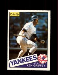 1985 KEN GRIFFEY OPC #380 O-PEE-CHEE YANKEES *G2182