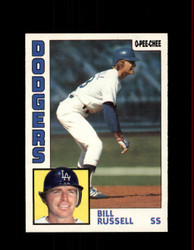 1984 BILL RUSSELL OPC #14 O-PEE-CHEE DODGERS *G2202
