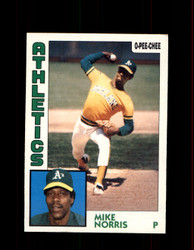 1984 MIKE NORRIS OPC #49 O-PEE-CHEE ATHLETICS *G2227
