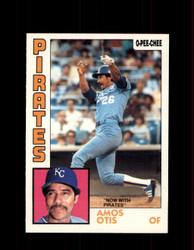 1984 AMOS OTIS OPC #53 O-PEE-CHEE PIRATES *G2231