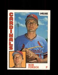 1984 BOB FORSCH OPC #75 O-PEE-CHEE CARDINALS *G2247