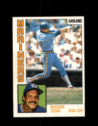 1984 RICHIE ZISK OPC #83 O-PEE-CHEE MARINERS *G2253