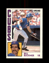 1984 BILL BUCKNER OPC #96 O-PEE-CHEE CUBS *G2263