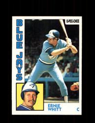 1984 ERNIE WHITT OPC #106 O-PEE-CHEE BLUE JAYS *2272