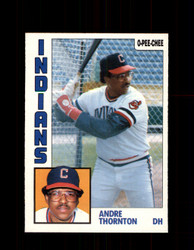 1984 ANDRE THORNTON OPC #115 O-PEE-CHEE INDIANS *G2278