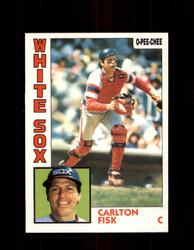 1984 CARLTON FISK OPC #127 O-PEE-CHEE WHITE SOX *G2289