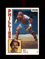1984 BO DIAZ OPC #131 O-PEE-CHEE PHILLIES *G2291