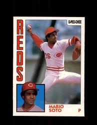 1984 MARIO SOTO OPC #160 O-PEE-CHEE REDS *G2316