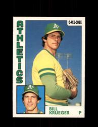 1984 BILL KRUEGER OPC #178 O-PEE-CHEE ATHLETICS *G2331
