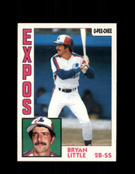 1984 BRYAN LITTLE OPC #188 O-PEE-CHEE EXPOS *G2339