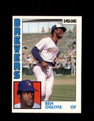 1984 BEN OGLIVIE OPC #190 O-PEE-CHEE BREWERS *G2340