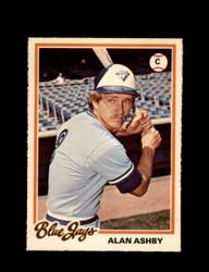 1978 ALAN ASHBY OPC #76 O-PEE-CHEE BLUE JAYS *G2371