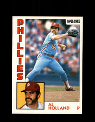 1984 AL HOLLAND OPC #206 O-PEE-CHEE PHILLIES *G2354