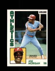 1984 JOE MORGAN OPC #210 O-PEE-CHEE ATHLETICS *G2356